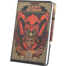 Записная книжка Dungeons and Dragons - Player's Notebook (+карандаш)