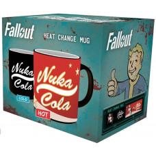 Кружка Fallout - Nuka Cola (Heat Change) (320 мл)