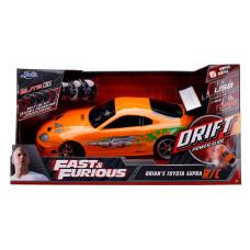 Модель автомобиля Fast & Furious - Elite R/C - Brian's Toyota Supra (Remote Control) (1:10)