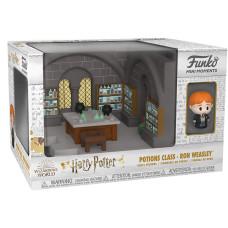 Набор Harry Potter - Mini Moments - Potion Class & Ron Weasley