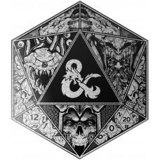 Пазл Dungeons & Dragons - Beautiful Original Artwork (D20 Dice Form)