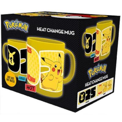 Кружка Gb Eye Pokemon - Pikachu 25 (Heat Change) (320 мл)