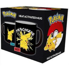 Кружка Pokemon - Pikachuuu! (Heat Change) (320 мл)
