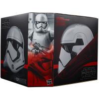 Копия шлема Star Wars - The Black Series - First Order Stormtrooper (Premium Electronic Helmet)
