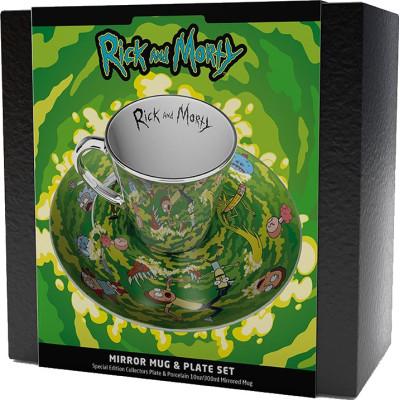 Подарочный набор Gb Eye Rick & Morty - Portal (чашка / блюдце)