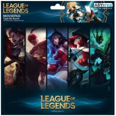 Коврик для мыши League of Legends - Champions