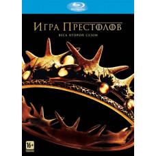 Игра престолов (Сезон 2, 10 серий) [Blu-ray]