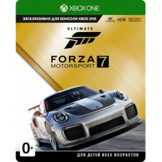 Forza Motorsport 7: Ultimate Edition [Xbox One, русские субтитры]