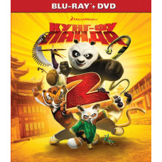 Кунг-фу Панда 2 [Blu-ray + DVD]