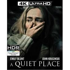 Тихое место (русские титры) [4K UHD Blu-ray] + Тихое место [Blu-ray]
