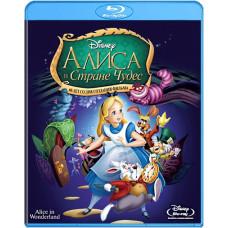 Алиса в Стране Чудес (м/ф) [Blu-ray]