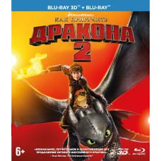 Как приручить дракона 2 (Universal) [3D Blu-ray + 2D версия]