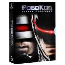 Робокоп (Полная коллекция 1-4) [Blu-ray]