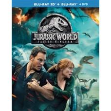 Мир Юрского периода 2 (Специальное издание) [3D Blu-ray + 2D версия + DVD с доп. материалами]