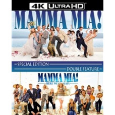 Mamma Mia! 1-2 [4K UHD Blu-ray]