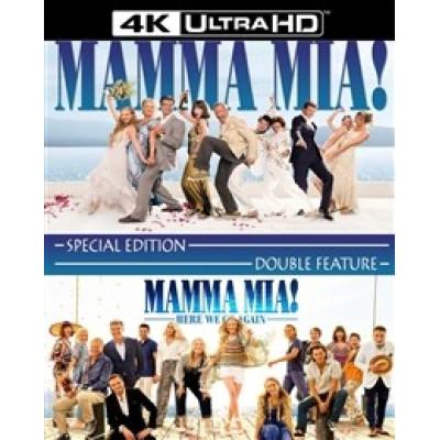 Фильм NDPlay Mamma Mia! 1-2 [4K UHD Blu-ray] BD