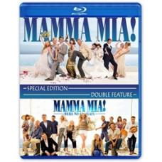 Mamma Mia! 1-2 (Специальное издание) [Blu-ray + DVD]