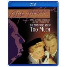 Человек, который слишком много знал (Шедевры А. Хичкока) [Blu-ray]