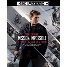 Миссия невыполнима (Коллекция 6 фильмов + буклет/карточки) [4K UHD Blu-ray]
