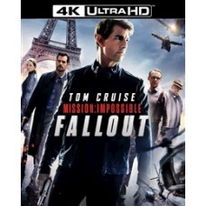 Миссия невыполнима: Последствия (+ Бонусный диск + буклет/карточки) [4K UHD Blu-ray]