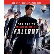Миссия невыполнима: Последствия (Специальное издание) (+ буклет/карточки) [Blu-ray]