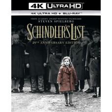 Список Шиндлера (Юбилейное издание) [4K UHD Blu-ray]