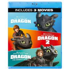 Как приручить дракона (Трилогия) (+вложения) [3D Blu-ray + 2D Blu-ray]