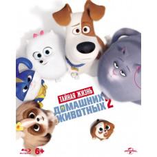 Тайная жизнь домашних животных 2 (+тетрадь) [Blu-ray]