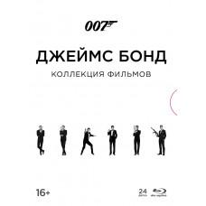 Джеймс Бонд (Коллекция 007) (+Blu-ray доп.мат/карточки) [Blu-ray]