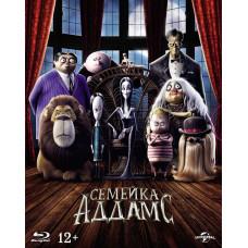 Семейка Аддамс (2019) (+карточки/тетрадь) [Blu-ray]