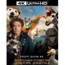 Удивительное путешествие доктора Дулиттла [4К UHD Blu-ray]