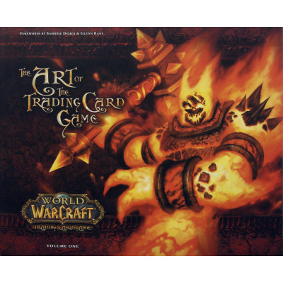 Артбук Upper Deck World of Warcraft: The Art of The Trading Card Game Vol. 1 [Hardcover]