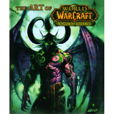 The Art of World of Warcraft Burning Crusade [Hardcover]