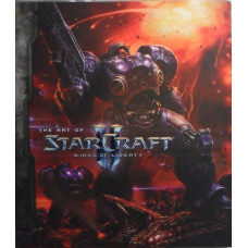 Starcraft II: Wings of Liberty Collector's Artbook [Hardcover]