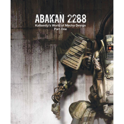Артбук Design Studio Press ABAKAN 2288: kallamity's world of mecha design part one [Hardcover,Paperback]