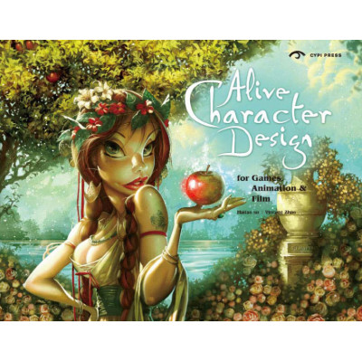 Артбук Gingko Press Alive Character Design: For Games, Animation and Film [Paperback]