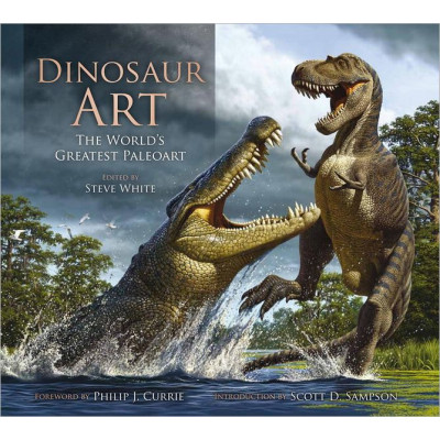 Артбук Titan Books Dinosaur Art: The World's Greatest Paleoart [Hardcover]