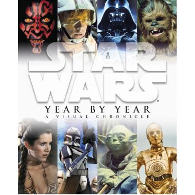 Артбук Dorling Kindersley Star Wars Year by Year: A Visual Chronicle [Hardcover]