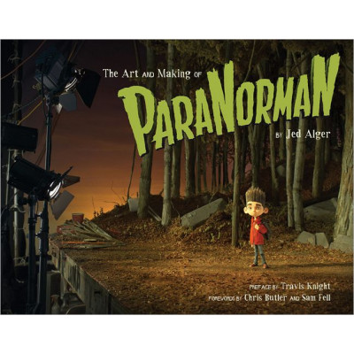 Артбук Chronicle Books The Art and Making of ParaNorman [Hardcover]