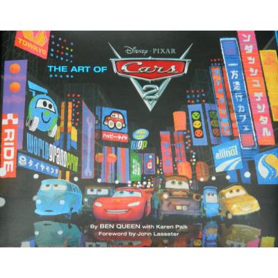 Disney Chronicle Books The Art of Cars 2 [Hardcover]