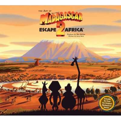 Dreamworks Insight Editions The Art of Madagascar: Escape 2 Africa [Hardcover]