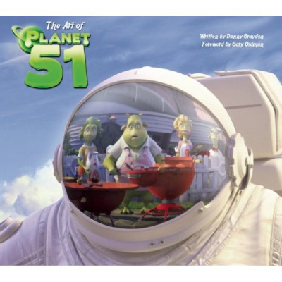 The Art of Planet 51 [Hardcover]