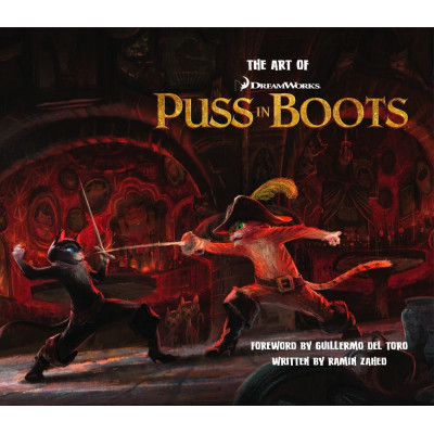 Dreamworks Insight Editions The Art of Puss in Boots [Hardcover]
