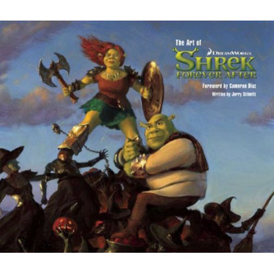 Dreamworks Insight Editions The Art of Shrek Forever After [Hardcover]