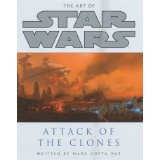The Art of Star Wars: Episode II - Attack of the Clones [Paperback,Hardcover]