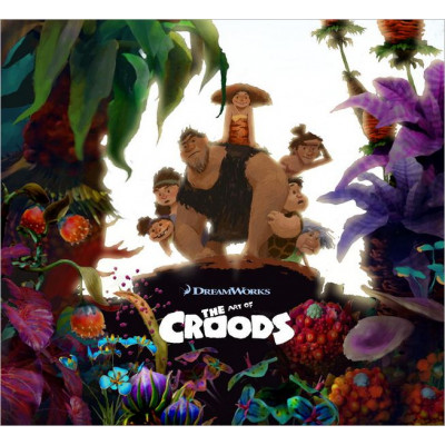 Dreamworks Titan Books The Art of the Croods [Hardcover]