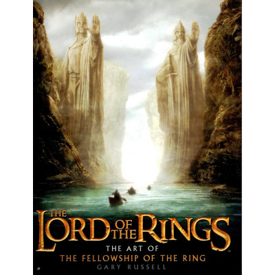 Lord of the rings Houghton Mifflin Harcourt The Lord of the Rings: The Art of The Fellowship of the Ring [Hardcover]