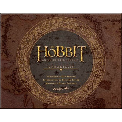 Артбук Harper Design The Hobbit: An Unexpected Journey Chronicles: Art & Design [Hardcover]