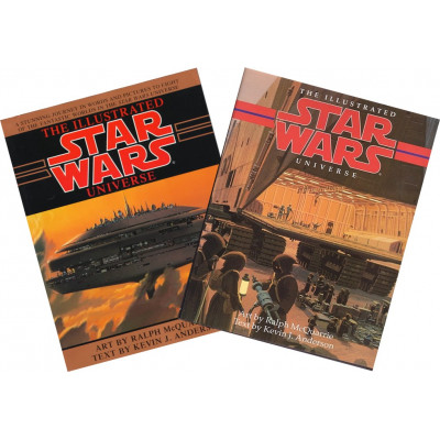 The Illustrated Star Wars Universe [Paperback,Hardcover]