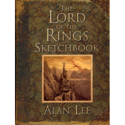 Lord of the rings Houghton Mifflin Harcourt The Sketchbook [Hardcover]